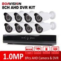 Système de caméra 8CH 720P Full HD DVR AHD P2P Easy Access Security System-Camera DVR 8CH 720P AHD Kit 1.0MP Mini CCTV AHD extérieure