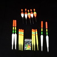 Wholesale 15pcs Bobbers Slip Drift Tube Indicator Assorted Sizes HF003 Fishing Lure Float