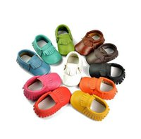 baby home shoes - New Whole Market Hot Sale Baby Infant PU Leather Tassels Walking Shoe Soft Wear Home Toddler Monthes Infact Walking Shoe