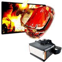 Wholesale Google Cardboard Glasses D VR Glasses Head Mount Virtural Reality Glasses Movies Plastic Box For Smartphones