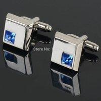 Wholesale crystal cufflinks male French shirt rass men s shirt cuff cufflinks cuff links cufflink IA940 W0