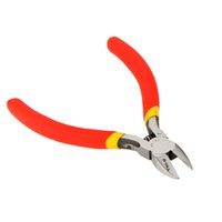 Wholesale TU D quot Mini Diagonal Cutting Pliers Nippers Precision Pliers Wire Cable Cutters Craftsman Carbon Steel Tool Ferramentas