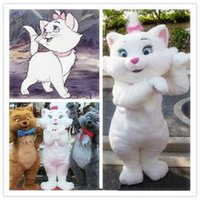 Wholesale hot Custom Made Aristocats Marie Mascot Costume Aristocats Mascot Costume Marie Costume
