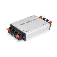 beige rgb - DHL Fedex Clip RGB Amplifier DC5V DC12V DC24V w w a channels RGB controller for led strip bulb light SMD