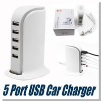 Wholesale USB charger Ports with USB adapater Data Cable For Iphone Iphone s For Note2 Galaxy S4 with retail package
