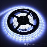 Wholesale Waterproof V LED Strip Light White Bule Red Yellow Green m Tape Diode leds Flexible Single Color Light Hight Quality LED Tape