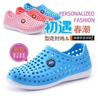 animal print mules - HOT Breathable hole cutout design mules shoes lovers casual outdoor sandals