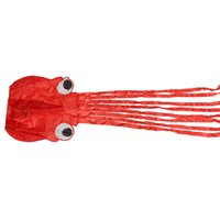 Wholesale Single Line Stunt RED Octopus POWER Sport Kite Outdoor Toys m