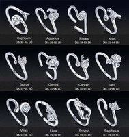 Wholesale Top Grade Silver Band Rings Hot Sale Crystal Finger Ring For Women Girl Party Open Size Fashion Jewelry Free Ship WH