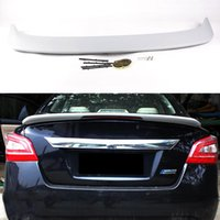 Wholesale Car Styling Rear Wing Trunk Spoiler Decorative Cover For Nissan Teana ABS Chrome Auto Accessories High Quality