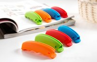 Wholesale Commodity handle shopping bags shopping bag handle handle green silicone soft texture tear