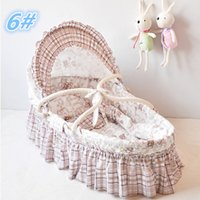 corn husk - 100 Corn Husk Straw Braid Bassinet Newborn Cradle Bed Baby Sleeping Basket Portable Baby Bed Baskets Sleeping Basket Colors