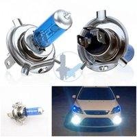 New Light Car Source 2 x Kit d'ampoule H4 Xenon lampe halogène Auto HeadLight 12V # ZH284