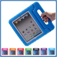 apple ipad cover colors - For Apple iPad mini mini4 Kids Cover Safe Handle Shockproof Case EVA Foam Shakeproof Stand Protective Cover Colors