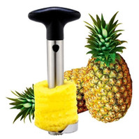 pineapple cutter - Pineapple Corer Slicer Cutter Peele Stainless Steel Pineapple Corer Slicer Peeler Cutter knife Kitchen Tool