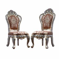 Wholesale Continental Furniture Ensemble classical French garden Chairs private luxury palace furniture Chairs