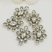 Wholesale 5pcs mm mm snow crystal flower flat back acrylic jewelry making rhinestones for diy beads high quality