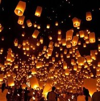 air balloons fly - Sky Lantern Flying Wishing Lamp Hot Air Balloon Kongming Lantern for family wishing and party flavorings and picnic celebration
