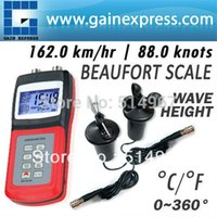 Wholesale Digital Multi function Thermo Anemometer CUP Type Sensor Probe Air Weather Meter Wind Direction