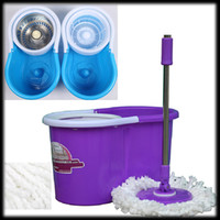 Wholesale by DHL or EMS pieces Microfibre Spin Mop Mop Rotating