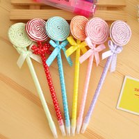 Wholesale Creative Stationery Lovely Lollipops Ballpoint Pen Beautiful Gift SN035