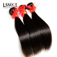 eurasian hair - Unprocessed A Human Hair Weaves Bundles Brazilian Peruvian Malaysian Indian Cambodian Russian Eurasian Filipino Straight Hair Extensions
