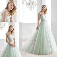 green wedding gown - Mint Green New Luxury Charming Beading Crystal Sweetheart Ball Gown Bling Wedding Dress With Jacket
