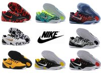 Cheap Nike Men's Kobe 9 Basketball Shoes New Low Cut Cheap Good Quality Men Sports Shoes Discount Yeezy Basketball Shoes