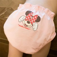 Wholesale Baby Diaper Kids Diaper Baby Diaper Fashion Kids Cute Mickey Printing and Cotton Diaper Hot Infant Waterproof and Breathable Diaper