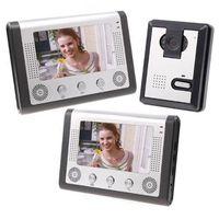 Wholesale Inch Video Door Phone Doorbell Intercom Kit camera monitor Night Vision