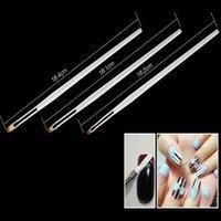 art brush strokes - Set New Professional nail art brushes Convenient Effective nail art pen Hot Grade brush stroke for nail