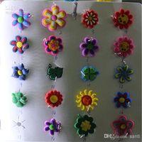 rainbow loom - Christmas gift Fashion Mixed girl Assortment Charms for Rainbow Loom Bracelets small pendant styles mixed