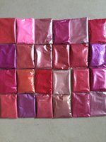 Wholesale Cosmic Pink Colors Mica powder pigment set for makeup eyeshadow nail art soap making