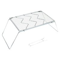 barbecue grill netting - Detachable Portable Folding Stainless Steel BBQ Grills Outdoor Traveling Camping BBQ Grills Wire Mesh Barbecue Grill Net order lt no track