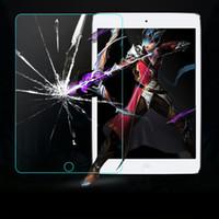 iPad Pro 9.7 0.3mm 2.5D 9H vidrio templado protector de la pantalla para el iPad Mini iPad2 / 3/4 Protectores Aire Galaxy Tab S T230 T330 T530 T700