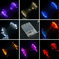 Wholesale New M LED Light String Fairy Party Wedding Christmas Yard Battery Power