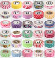 Wholesale 30PCS New vintage tower lace series washi masking Tape Decoration stationery Tape