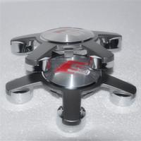 audi sport parts - 4pcs forSline S line Racing Sport RS Wheel Center Cap Hub caps Cover hubcap for Audi A3 A4 A5 A6 A8 Q5 Q7 TT Part NO F0601165 N
