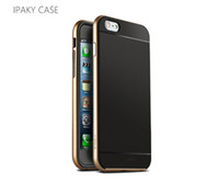 Wholesale 1mm mm TPU PC Ipaky cases for iphone6 iphone plus protect case cover skin shell For by ALIBEAR