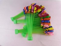 Cheap Bunch Balloons Colorful Water Magic balloons in bunch can fill 100 per minutes Summer water game toys