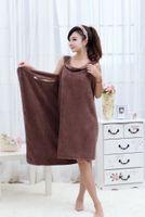 Wholesale Hot sale New style New style Microfiber Fabric Magic bath towel Creative Variety towel size cm