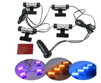Wholesale Automotive interior ambient lighting atmosphere lights LED lights modified atmosphere light foot X4PCS