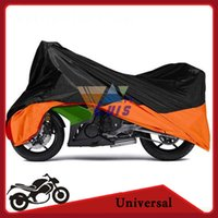 Wholesale XXL Motorcycle Cover Waterproof Polyester Moto Bike Scooter Cover Protection Covering for Halrley FXDF DYNA FAT BOB STREET BOB
