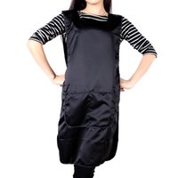 work apron - Salon Double Faced Apron Barber Work Wear Cloth Hairdresser Tool Cap Hairdressing Cape Hair Care Styling Tools H13855