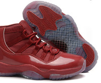 red red wine - Retros Womens Basketball Shoe Sports Shoes Women basketball Shoes Outdoor Shoes Sneakers lady Shoes Athletic Wine red AJ11 size