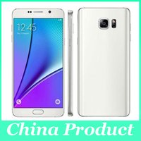 Wholesale Note5 MTK6572 Dual core Android Note inch Cell phone MB GB show G LTE wifi GPS white smartphone