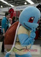 2016 caractères Hot Squirtle Tortue Mascot Adult Costume Halloween Polyfoam Cartoon Mascot Costume Fancy Dress Outfit