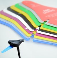Wholesale 10 Color Bike Cycling Race Fender Road Commuter Bicycle Saddle Mudguard Ass Rear Fender Removable Parts