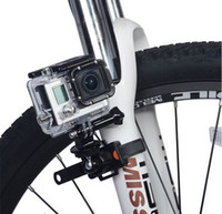 Wholesale Rotatable Bike Bicycle Motorcycle Quick Release Zip Tie Strap Mount Holder for Gopro Hero SJCAM Xiaomi Yi Sports Camera