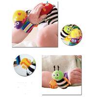 autumn puzzles - The new hot Wrist Rattle Baby Toys Lamaze ramaze wrist strap multifunctional puzzle baby toys
